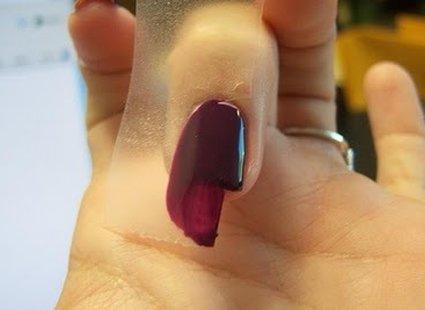 paznokcie ząbki - krok 3