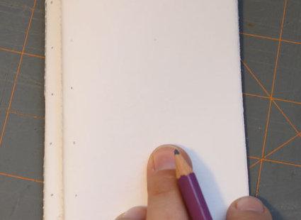 skórzany notatnik - krok 3