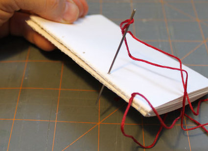 skórzany notatnik - krok 4