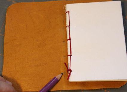 skórzany notatnik - krok 11
