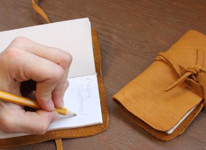 skórzany notatnik - krok 14