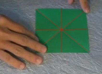 Choinka modułowa origami 1