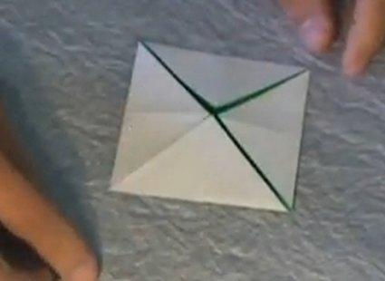 Choinka modułowa origami 2