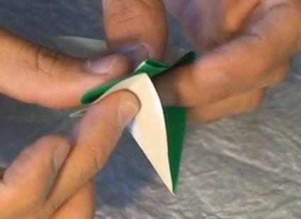 Choinka modułowa origami 7