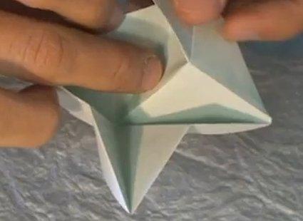 Choinka modułowa origami 8
