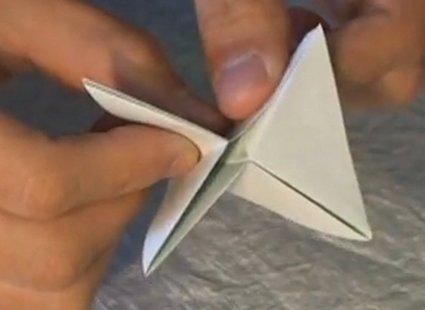 Choinka modułowa origami 9