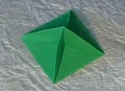 Choinka modułowa origami 11