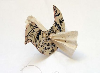 Ptaszek z papieru