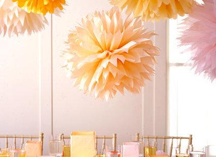 dekoracje z papieru - kule