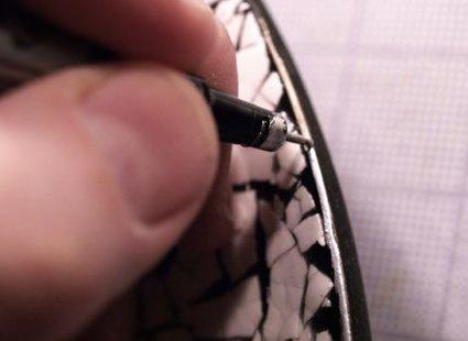 mozaika ze skorupek - krok 8