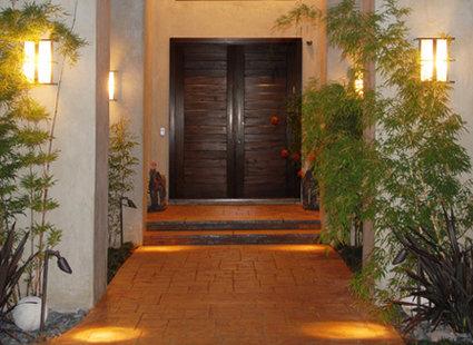 atrakcyjne drzwi wejściowe