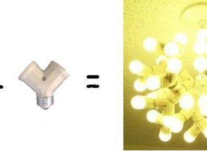 Lampa - zrób to sam