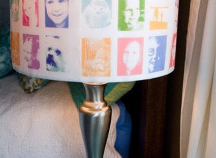 lampa ozdobna - pomysł 2