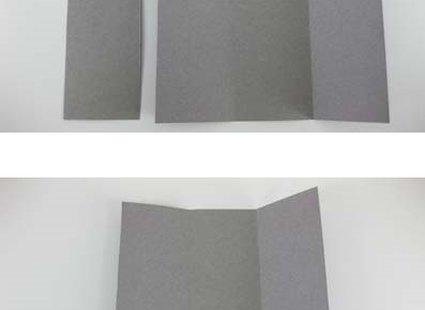 Robienie krzesła origami 4