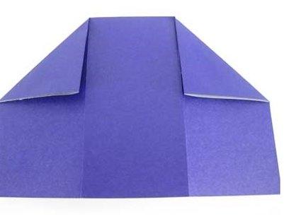 Robienie krzesła origami 7