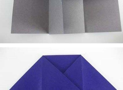 Robienie krzesła origami 9