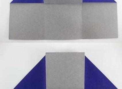 Robienie krzesła origami 10