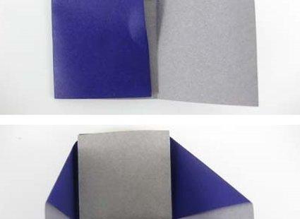 Robienie krzesła origami 12