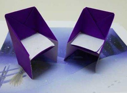 Krzesło origami