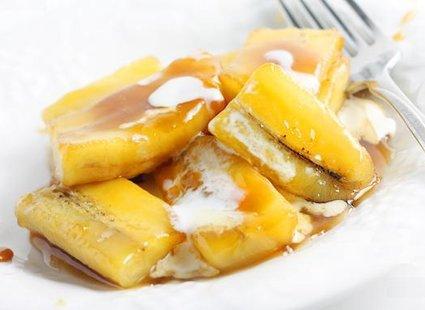 banany w karmelu