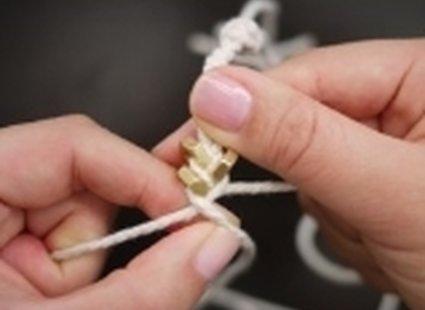 bransoletka ze sznurka - krok 9