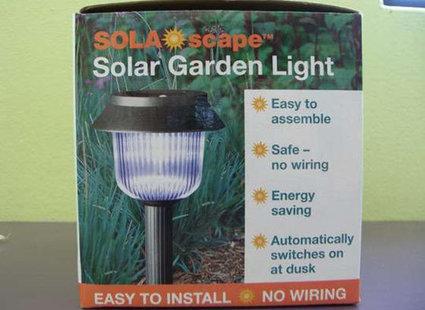 Zrób to sam - lampa solarna