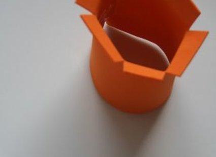 żonkil z papieru - krok 4