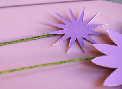 kwiatki z papieru - krok 4