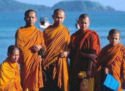 Mnisi z południowej Tajlandii