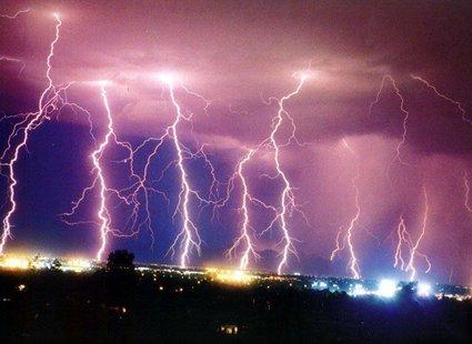 Burza z błyskawicami