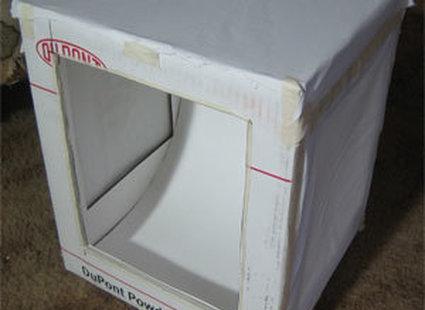 Zaklejanie pudełka