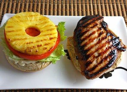 Burger z grilla