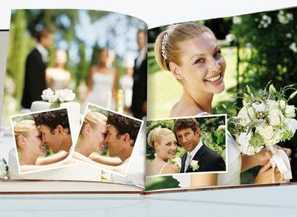 Album ze zdjęciami ślubnymi