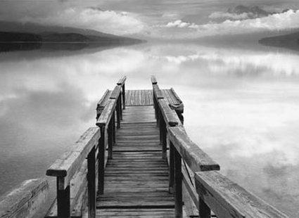 czarno białe zdjęcie