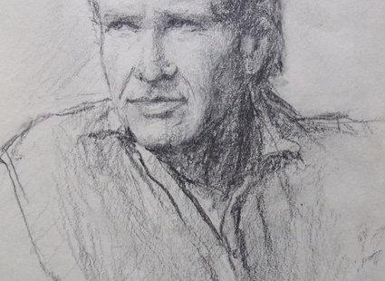 szkic człowieka
