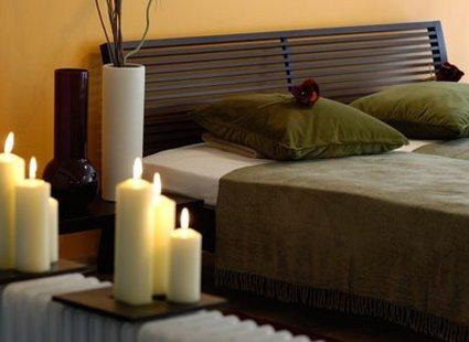 romantyczna dekoracja sypialni