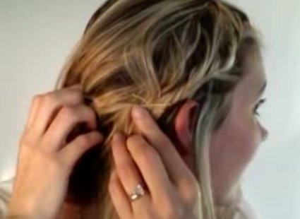 Robienie warkocza dookoła głowy 5