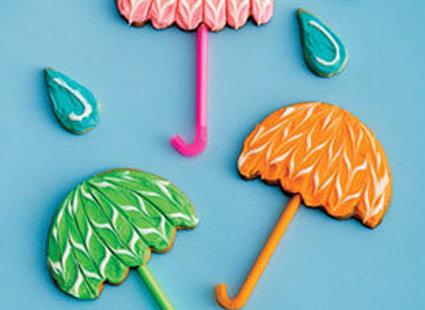 Ciasteczka w kształcie parasolek