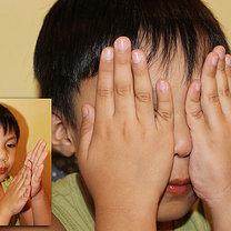 Ćwiczenia oczu krok 1