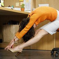 Ćwiczenie przy biurku