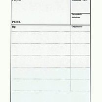 Wzór nowej recepty 2012