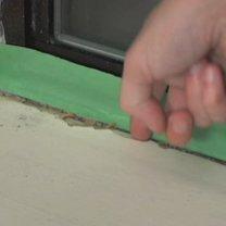 uszczelnianie ramy okiennej - krok 4