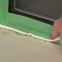 uszczelnianie ramy okiennej - krok 5