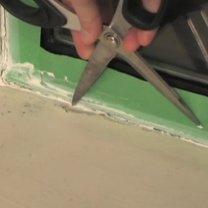 uszczelnianie ramy okiennej - krok 7