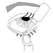 sposób zakrapiania oczu