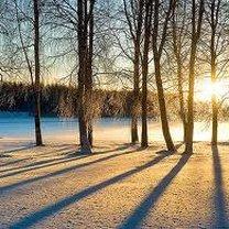 Wschód słońca pierwszego stycznia