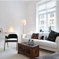 Wnętrze minimalistyczne 1