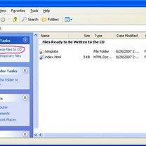 nagrywanie płyt cd w windows xp - krok 2