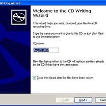 nagrywanie płyt cd w windows xp - krok 3