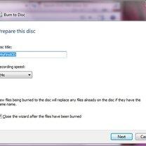 nagrywanie płyt w windows 7 - krok 6